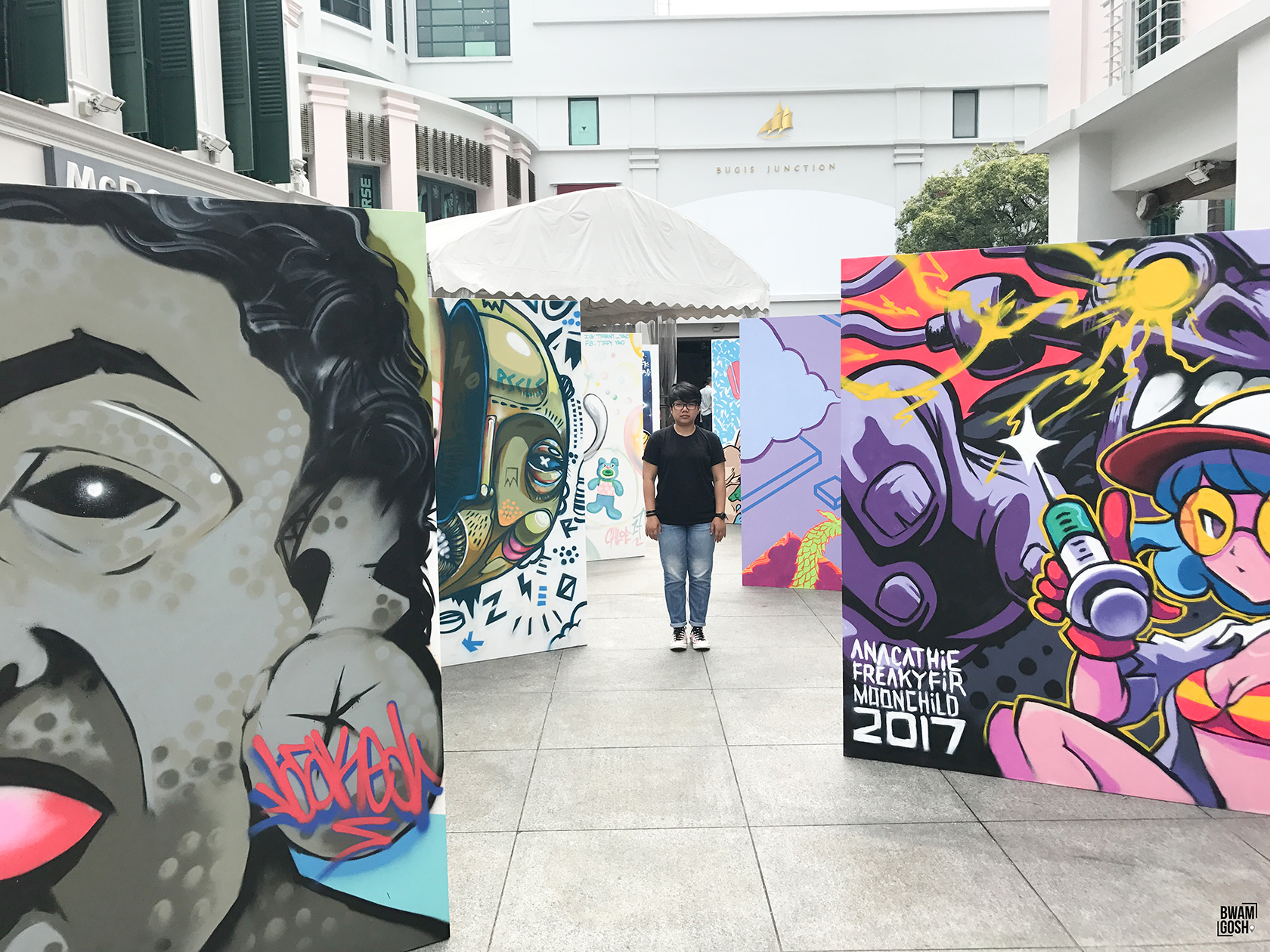 Explore The Unchartered Urban Street Art in SG Street Festival 2017